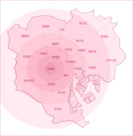 交通費地図
